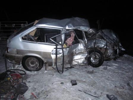 Под Оренбургом в итоге чудовищного ДТП погибло семь человек