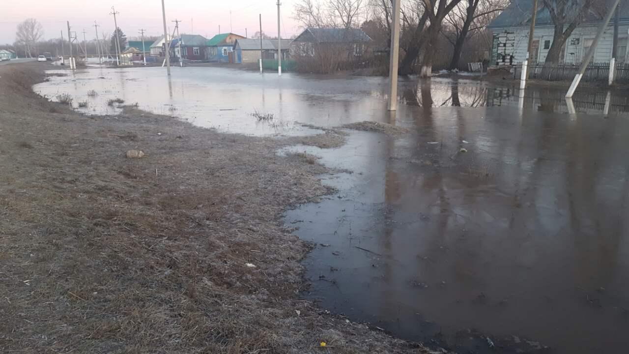 ВКирсановке уровень воды вреке Сорочка уменьшился на25см