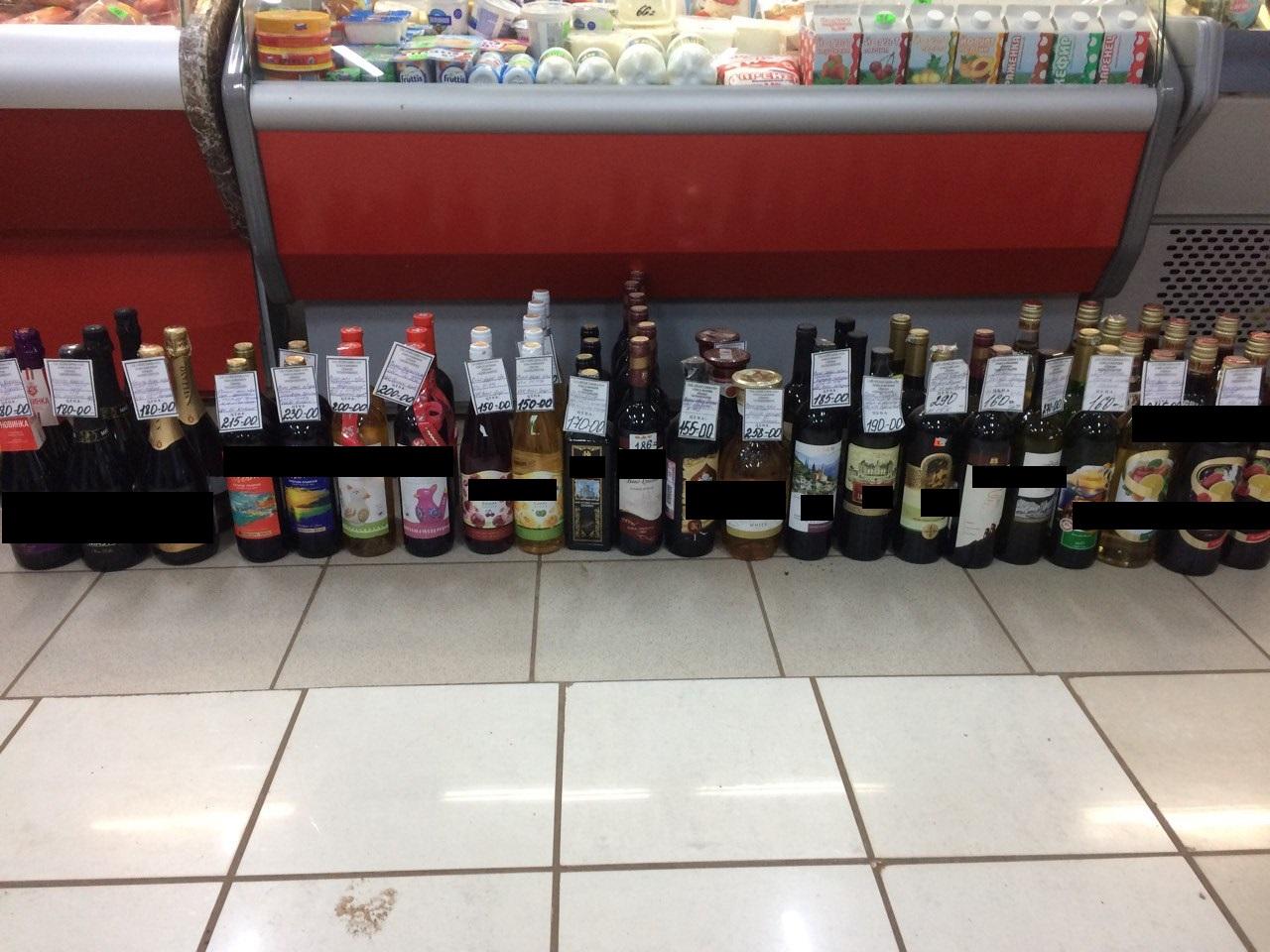 ВОренбурге изъяли 740 литров алкоголя без акцизных марок
