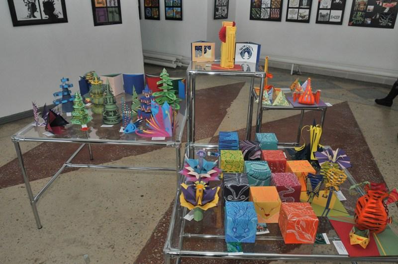 Дизайн работы на выставке