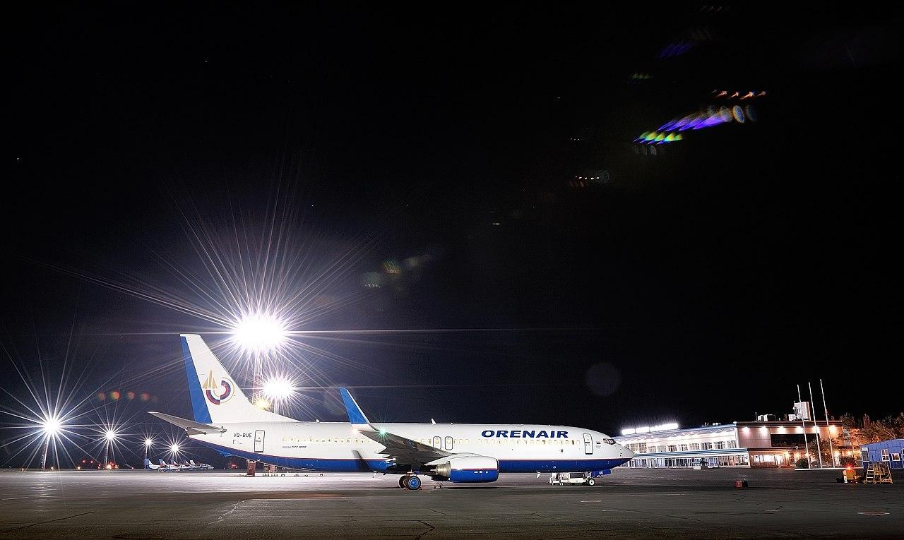 Оренбургские авиалинии фото самолетов