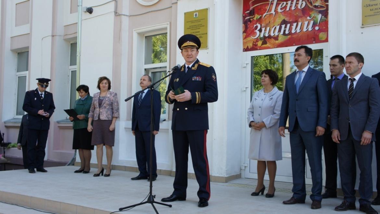 При школе №58 в Советском районе Казани открылся новый кадетский корпус