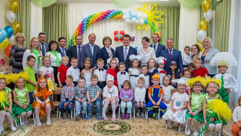 В жилом микрорайоне «Изумрудный город» в Казани открылся новый детский сад