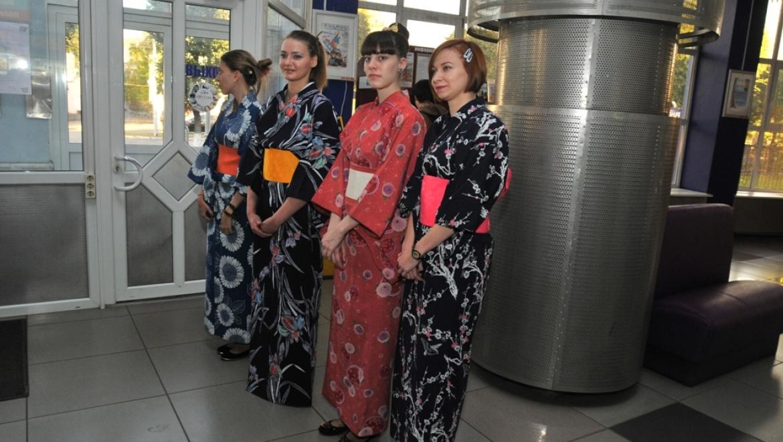 Открытие фестиваля «Дни Японии в ОГУ – 2015»