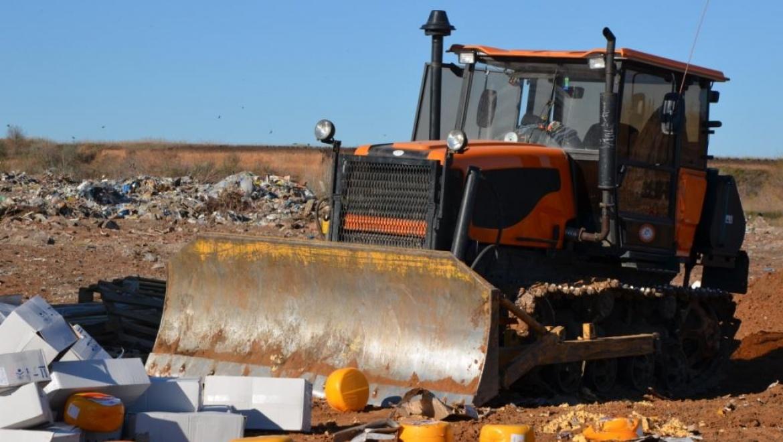 В Оренбурге уничтожено около 20 тонн контрафактного сыра
