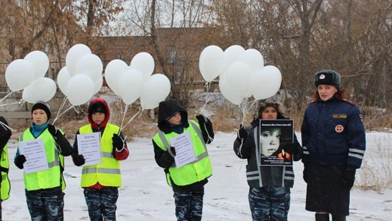 В Оренбургской области проведены акции в память погибших в ДТП