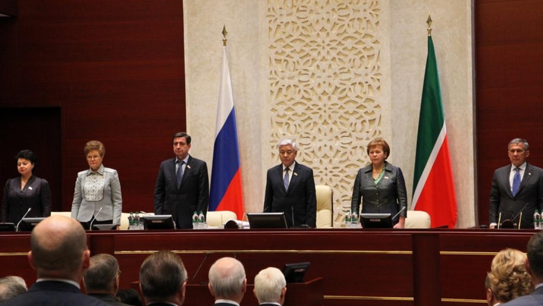 Ильсур Метшин принял участие в заседании Госсовета РТ пятого созыва