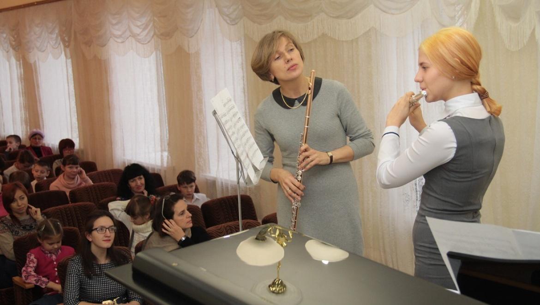 В Оренбургской области состоялись мастер-классы известной российской исполнительницы на флейте Ольги Ивушейковой