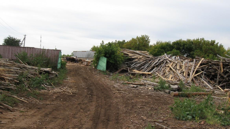 Несанкционированная свалка в Бузулукском районе