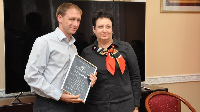 В мэрии чествовали победителей конкурса «Лучший субъект малого и среднего предпринимательства 2015 года в производственной сфере»