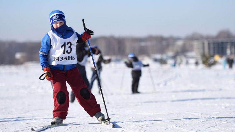 В Казани состоялась всероссийская массовая лыжная гонка «Лыжня России-2016»
