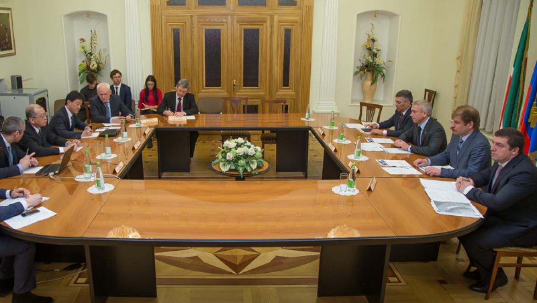 Денис Калинкин встретился с делегацией «Тойота Цусе Рус»