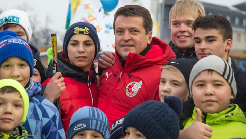 Ильсур Метшин принял участие в благотворительной акции «Катайся с пользой»