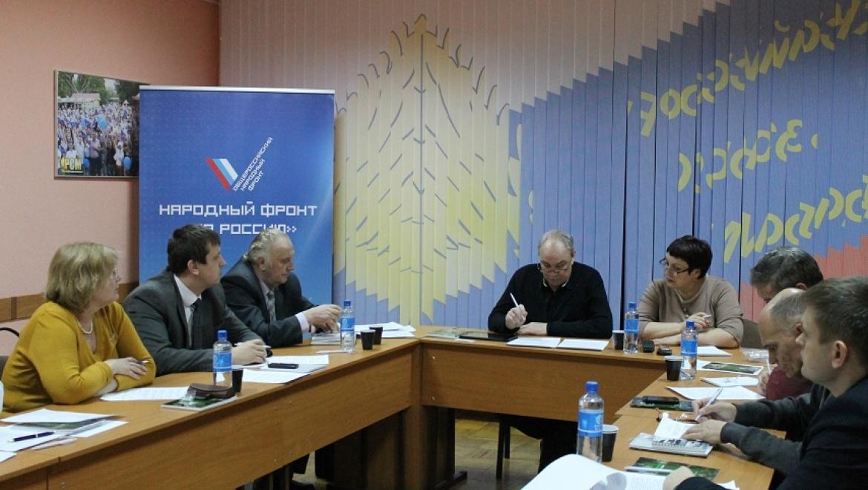 Оренбургские активисты ОНФ обсудили экологические проблемы региона