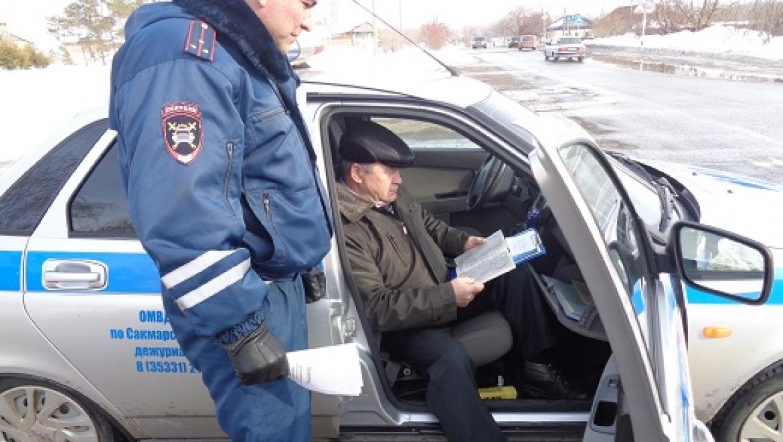 Общественник проверил несение службы нарядом ДПС