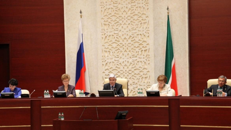 В Казани проходит 16-е заседание Госсовета РТ пятого созыва