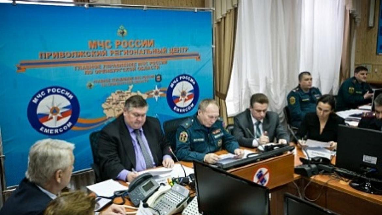 В Оренбургской области введен режим ЧС