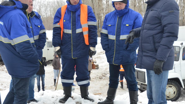 Готовность ООО «Оренбург Водоканал» к предстоящему паводку проверил Глава Оренбурга