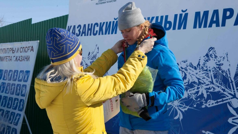 Названы победители 49-го традиционного Казанского лыжного марафона