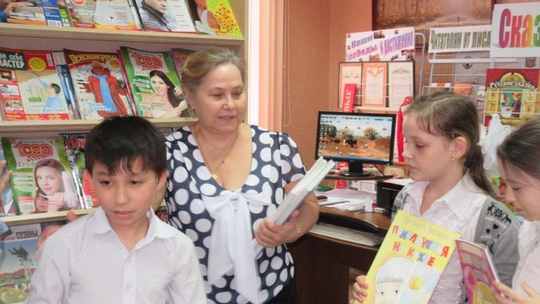 «Неделя детской книги» в П-Покровской сельской модельной библиотеке