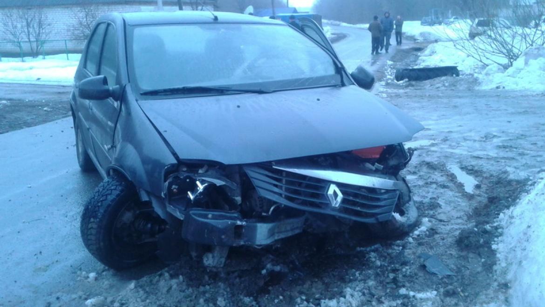 Дорожно-транспортное происшествие на угнанном автомобиле