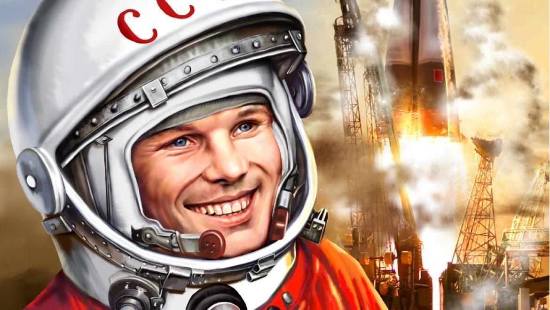 Открытки полет в космос