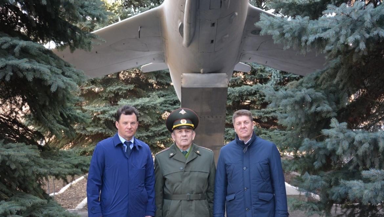 В Оренбург прибыл потомственный космонавт