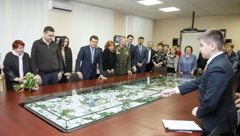 И.Метшин принял участие в открытии интерактивного музея памяти Альберта Камалеева