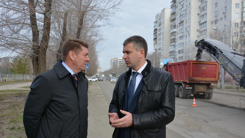 Андрей Шевченко проверил ход ремонта дорог
