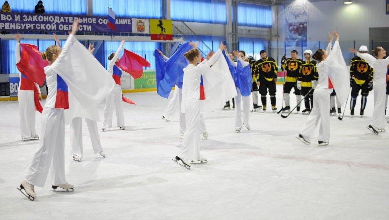 В Новосергиевке разыграли заключительный хоккейный матч на призы «Газпромнефть-Оренбурга»
