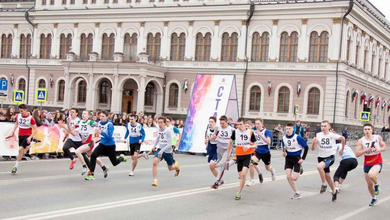 Более 1000 спортсменов приняли участие в первомайской эстафете