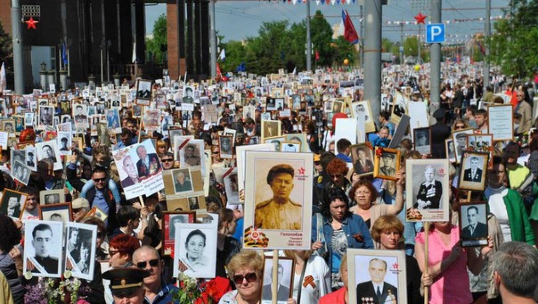 Около 30 000 оренбуржцев прошли в рядах «Бессмертного полка»