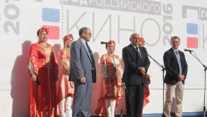 В Бугуруслане открыли современный кинотеатр