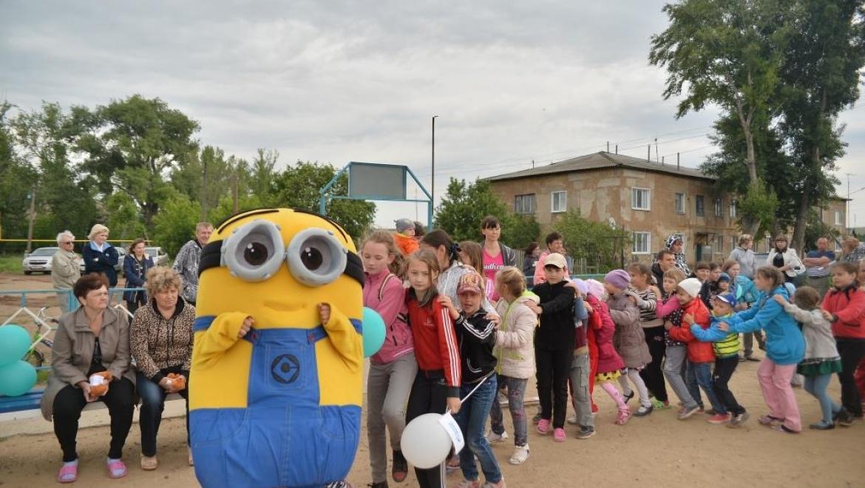«Газпромнефть-Оренбург» подарил  детям праздник