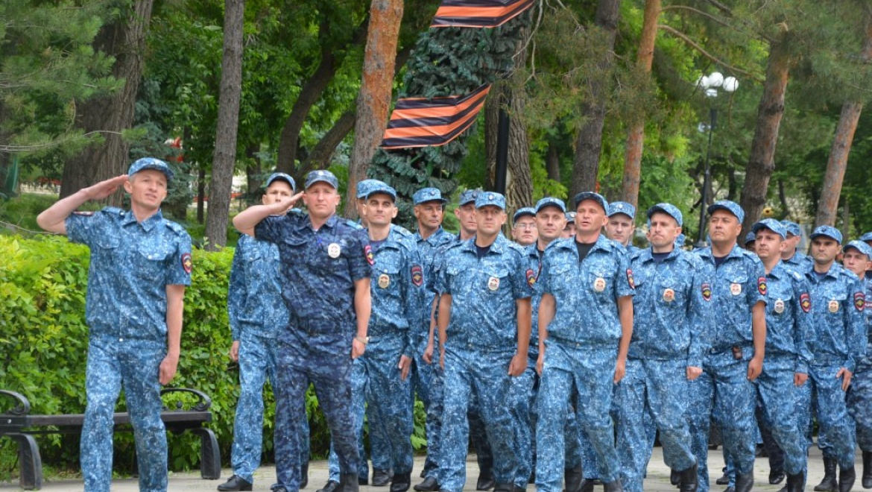 Отряд оренбургских полицейских отправился нести службу на Северный Кавказ