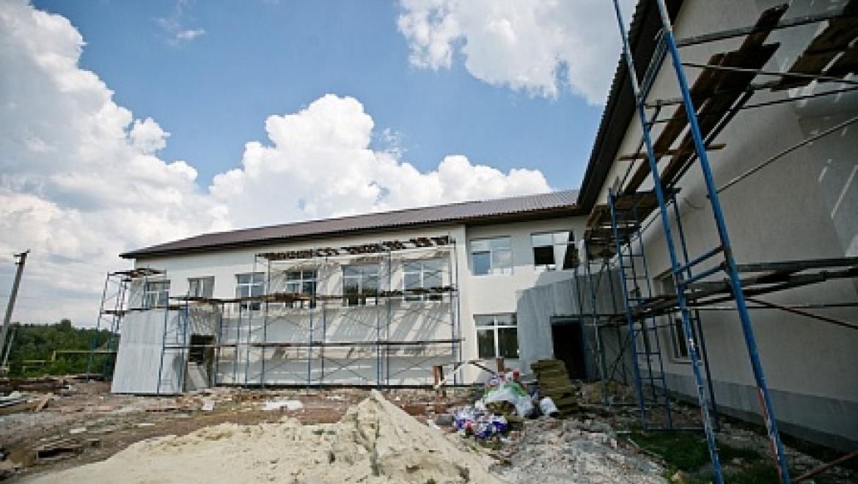 Губернатор проинспектировал ход ремонтных работ в Городецкой средней школе