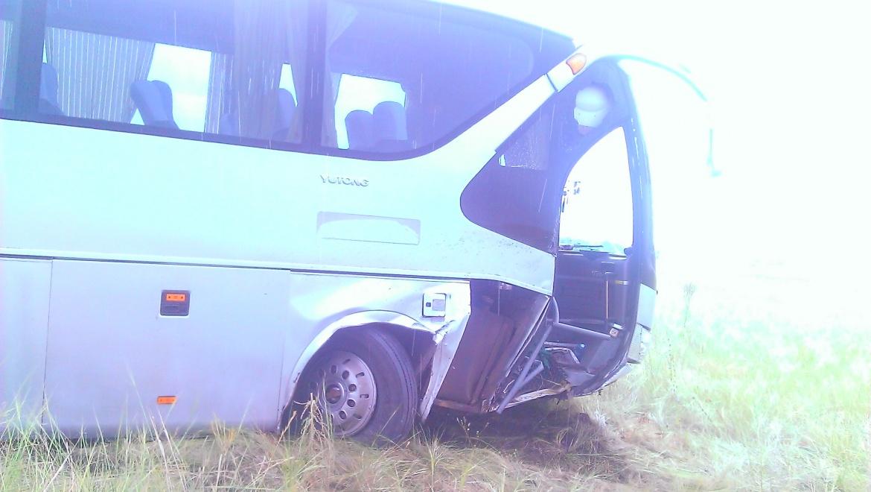 Рейсовый автобус попал в ДТП