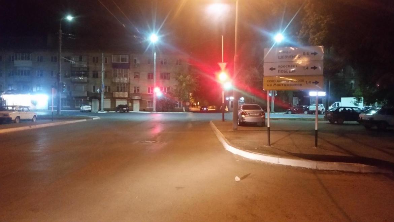 Крупная авария на проспекте Победы