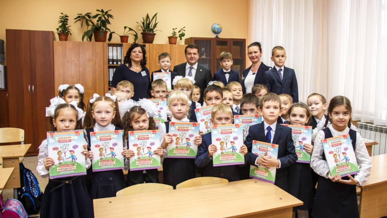 Мэр Казани провел урок добра в гимназии №27