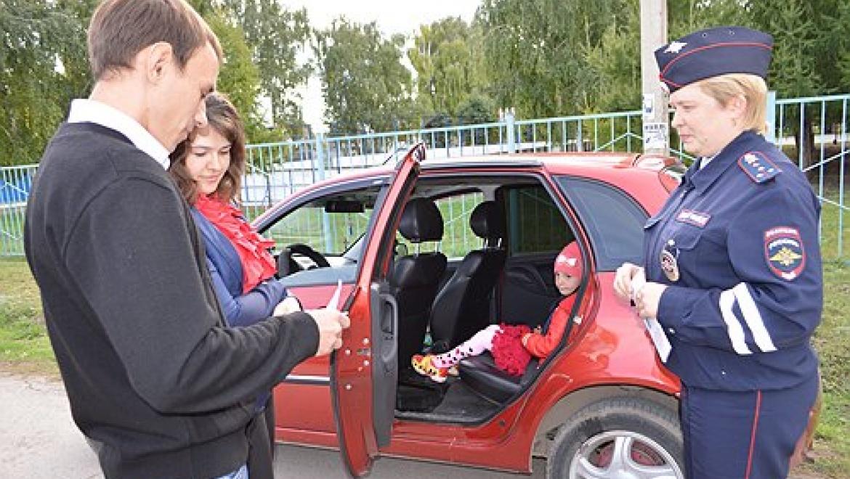 В Шарлыке прошла акция «Детям – безопасную дорогу!»