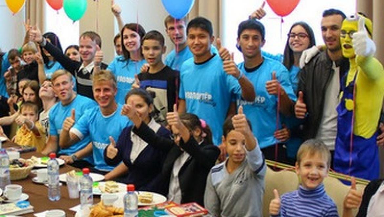Футболисты казанского «Рубина» устроили праздник для воспитанников детских домов