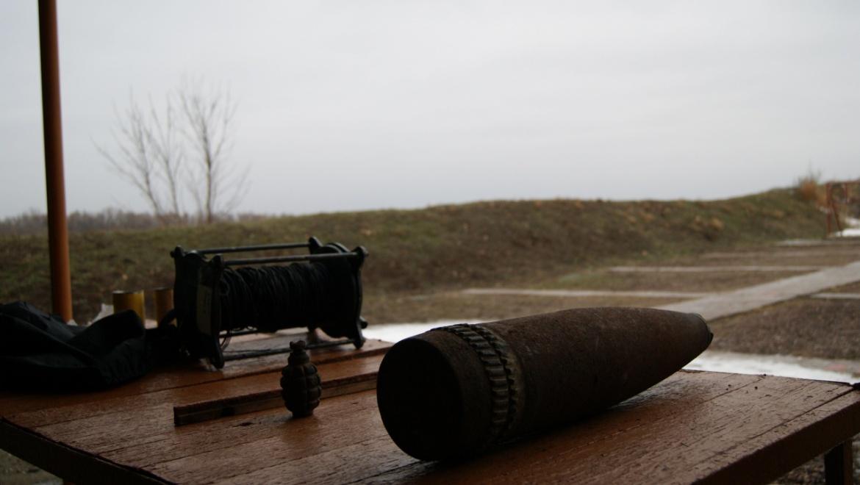 Саперы ОМОН уничтожили боеприпасы