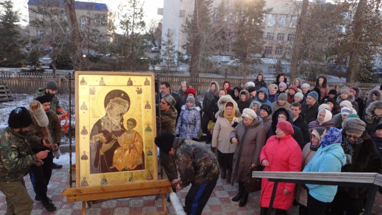 Иверская икона Богородицы прибыла в Сакмару