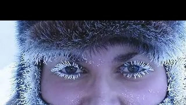 На Оренбург идут аномальные морозы