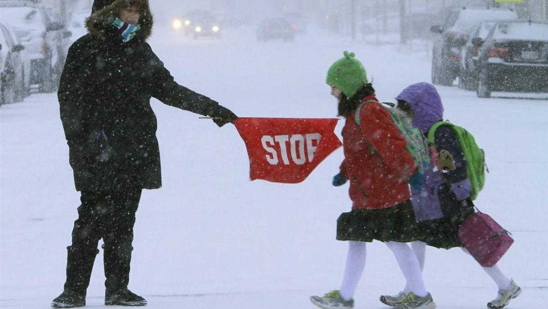 В морозы занятия для школьников отменяются