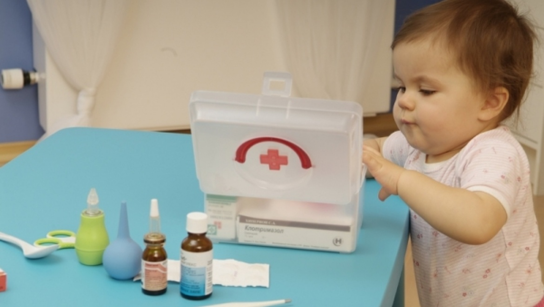 Годовалый ребенок отравился феназепамом