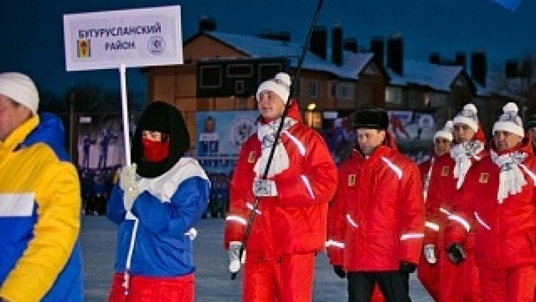 Торжественное открытие спортивных игр «Оренбургская снежинка»
