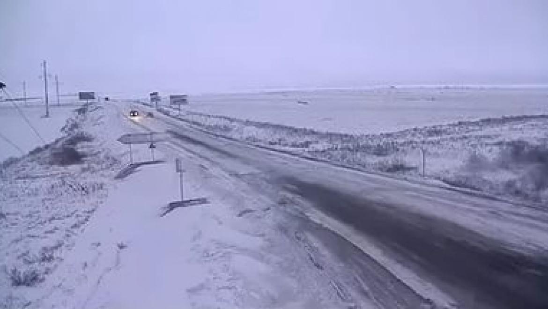 Трасса Оренбург-Орск закрыта для движения