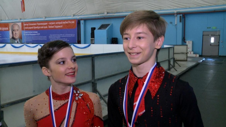 Оренбургские фигуристы стали лучшими среди 23 пар со всего мира
