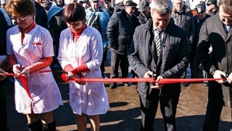 В Новосергиевском районе открылась молочная ферма